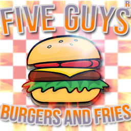 Five Guys Burgers And Fries Gfx By Officialrizty On Deviantart