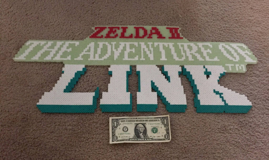 Zelda 2, Adventure of Link Logo. by jnjfranklin
