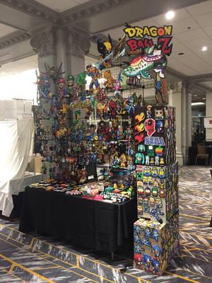 MTAC 2018 Perler Bead Artist Alley Table by jnjfranklin