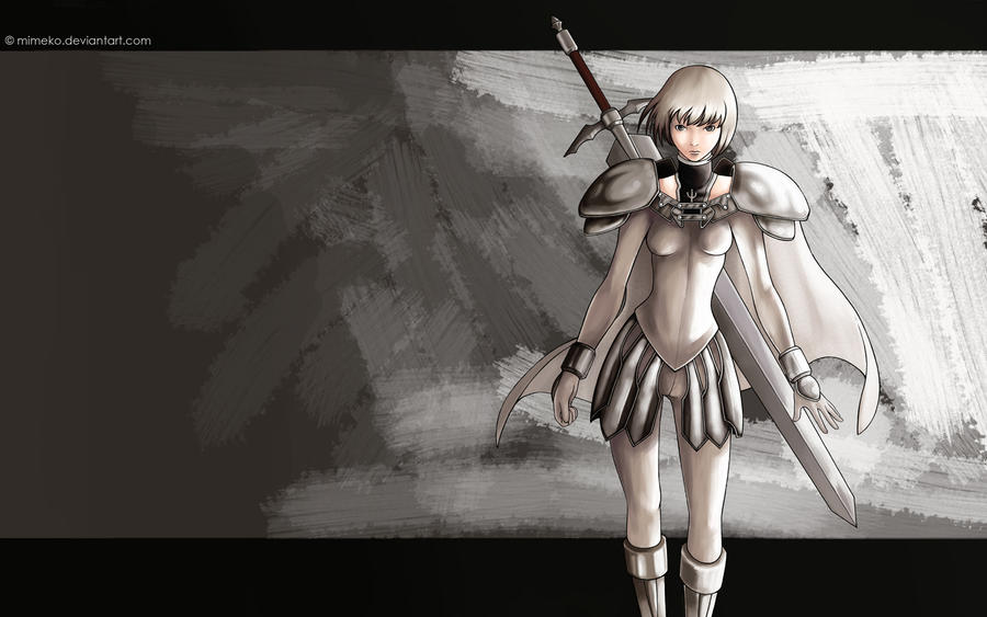 gallery for claymore clare wallpaper
