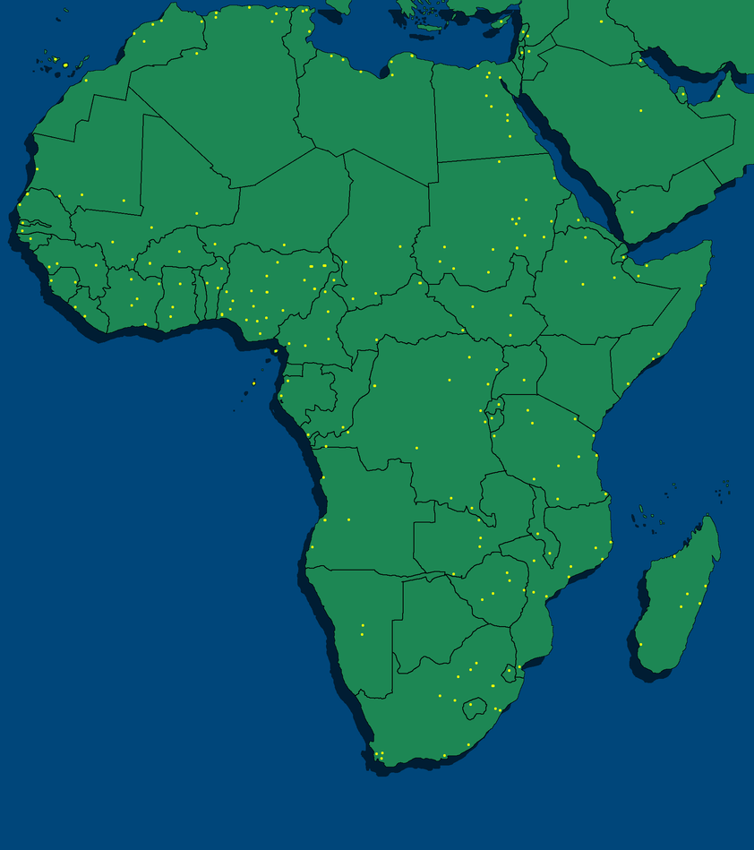 Blank map of Africa by MapperParaibaballBR on DeviantArt