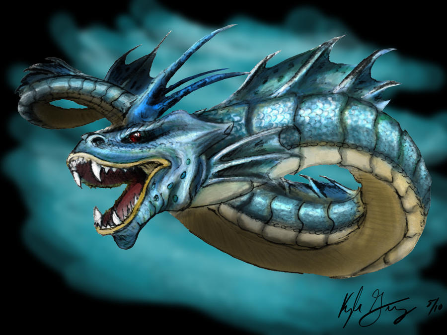 Gyarados - Pokemon Number 130 by Frabulator on deviantART