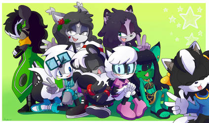 One Big Skunky Family by Ebeta2