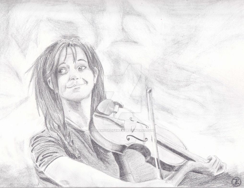 Hiphop Violin Girl By Drawforlifeman On Deviantart