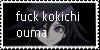 kokichi sucks stamp by TinyWindowless