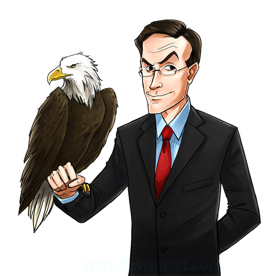 Colbert and Junior by zizzy