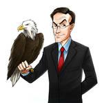 Colbert and Junior