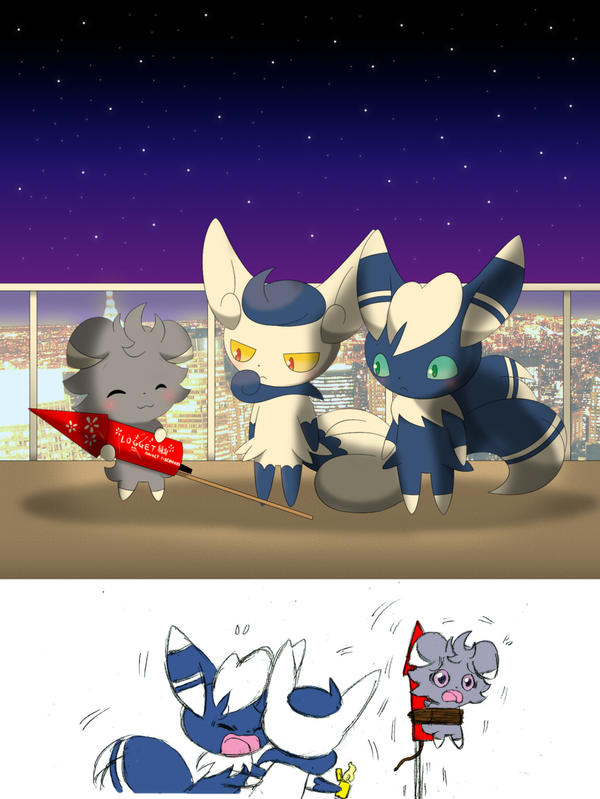 Welcome The New Year By Winick Lim On Deviantart