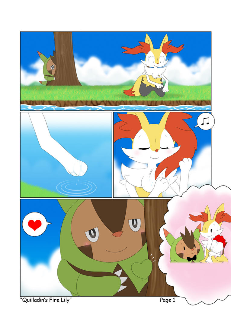 braixen and frogadier love