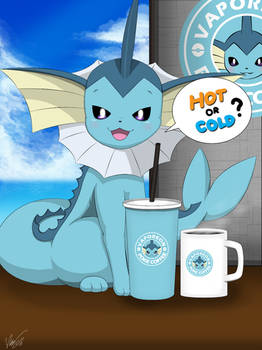 Hot or Cold? ( Vaporeon )