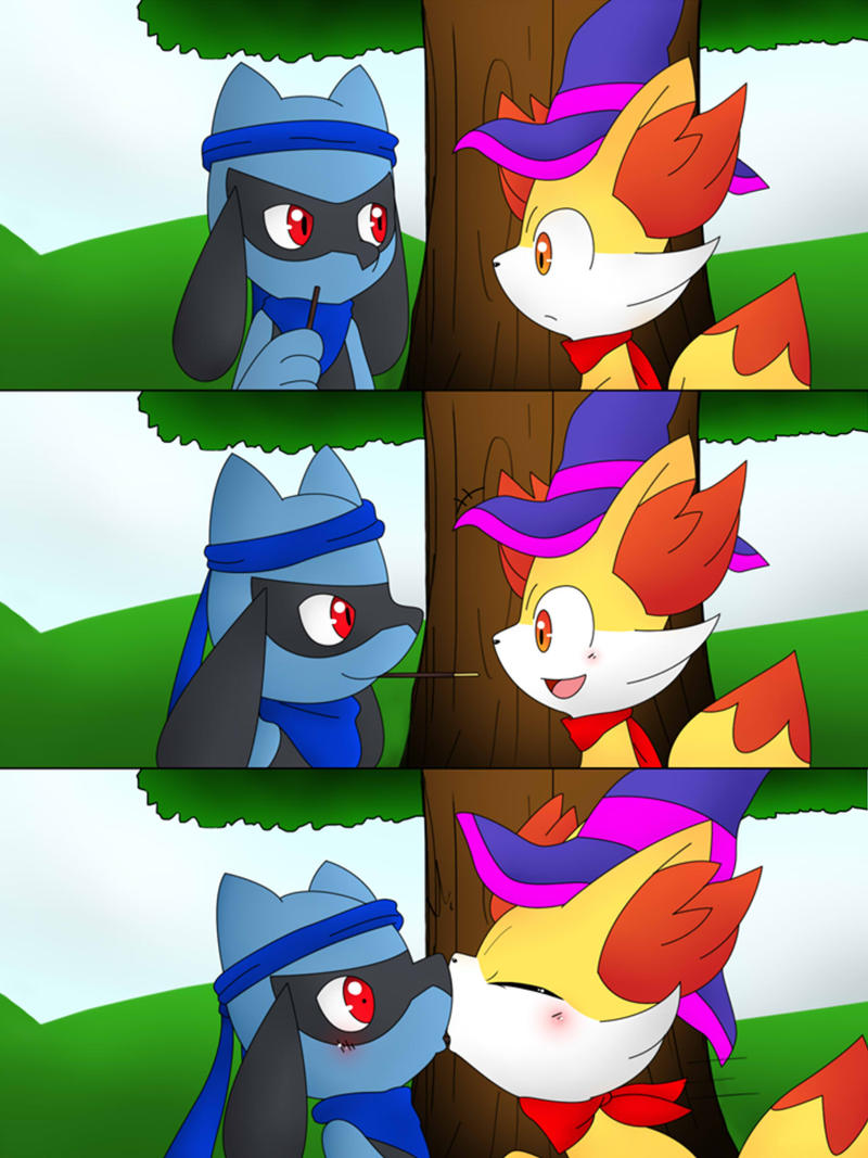 [Collaboration] Sharing Pocky by Winick-Lim