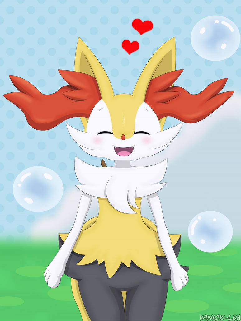 Keep Smiling Images For Facebook Braixen Refresh by Win...