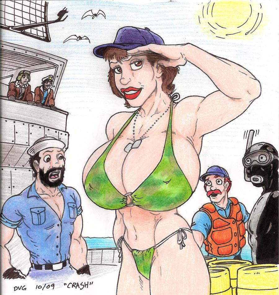 Adult busty comics