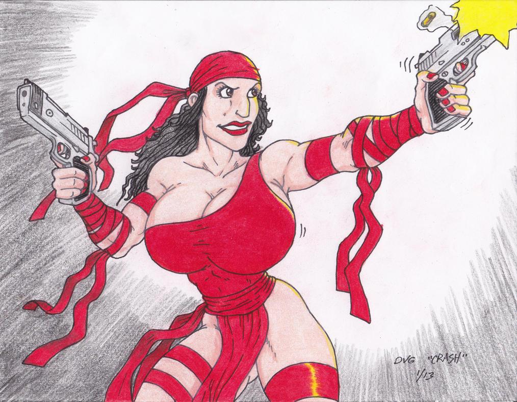 Pubg By Sodano On Deviantart: Elektra Shoots By Crash2014 On DeviantART