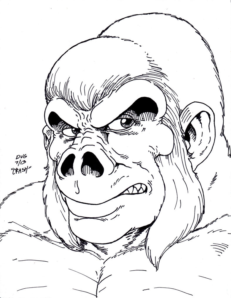 Gorilla Grodd By Crash2014