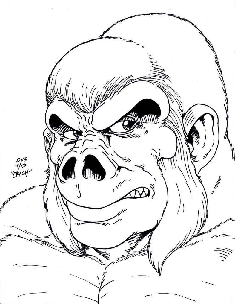 Gorilla Grodd By Crash2014 On DeviantArt