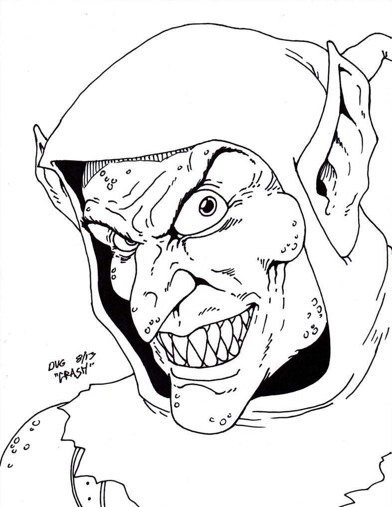 goblin coloring pages - photo#6