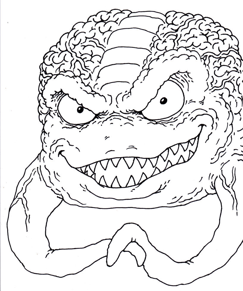 kraang coloring pages - photo#2