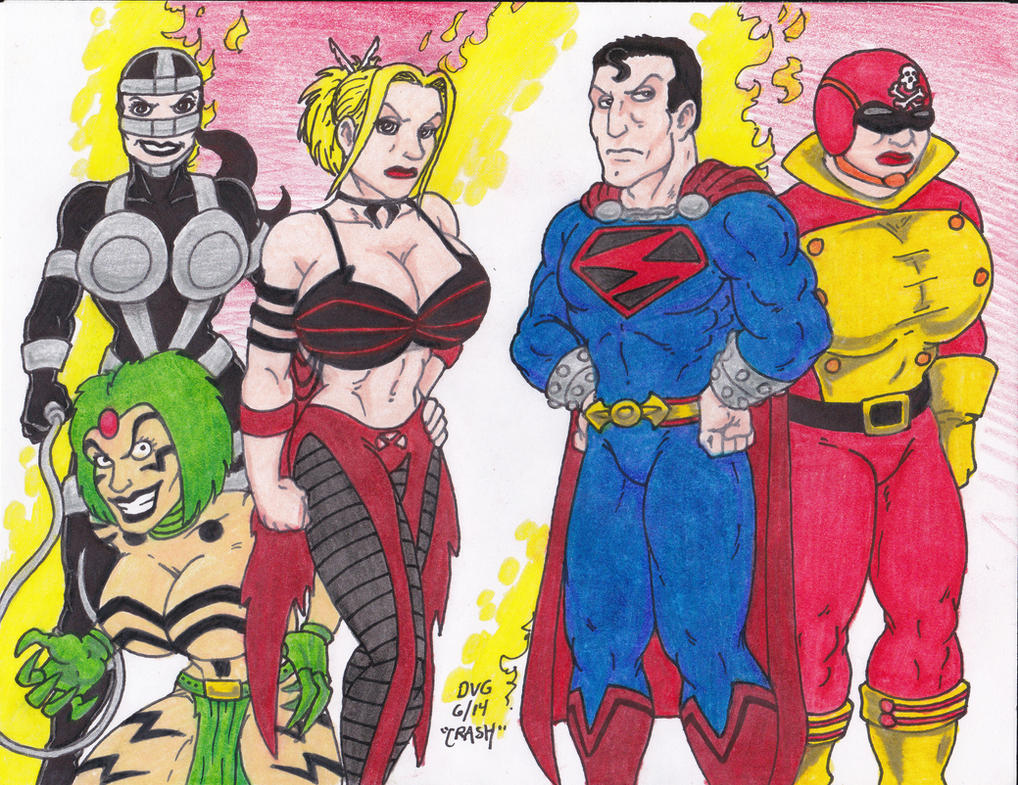 Apokolips Furies by Crash2014