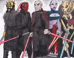 Sith Lords by Crash2014