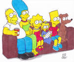 Couch Gag Simpsons