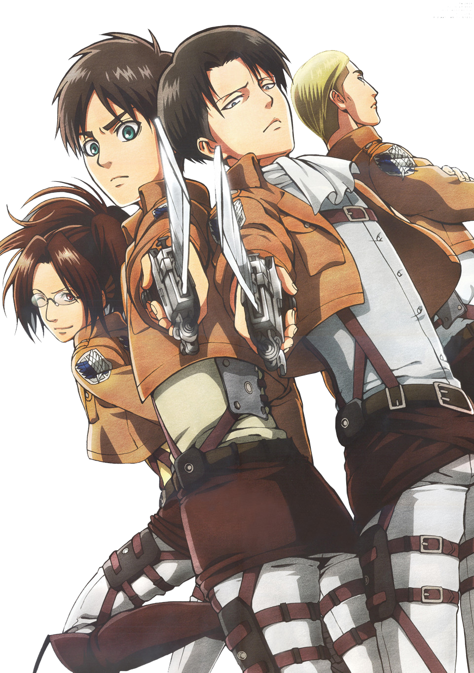 Shingeki No Kyojin Render 1 By Janoneee On DeviantArt