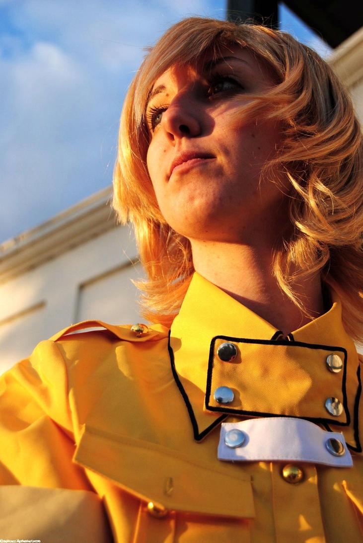 Hellsing police girl cosplay