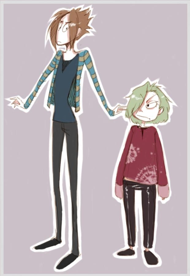 Jason and Eddie by kitten-chan
