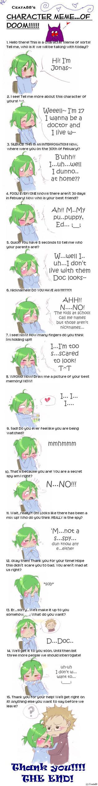 Moukemono: Interrogation Meme by kitten-chan