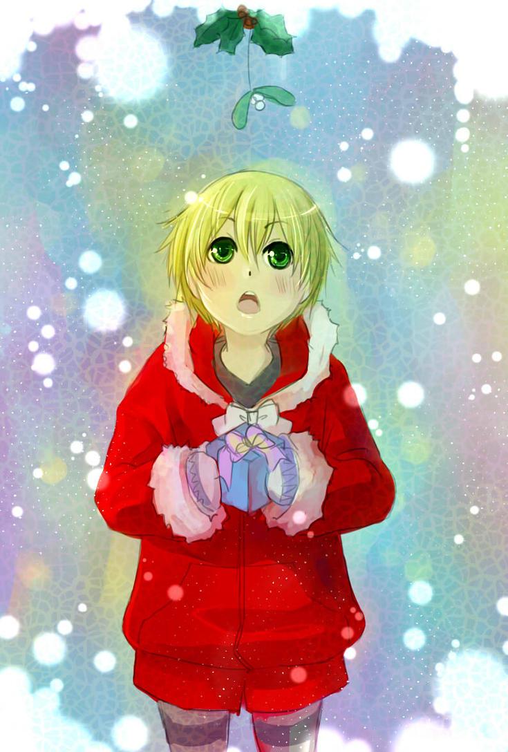 Secret Santa For Arielucia by kitten-chan