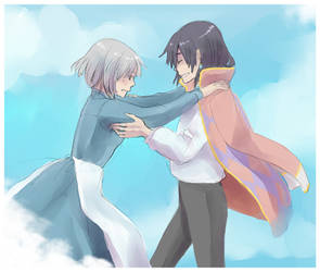 Howl's Moving Castle by kitten-chan
