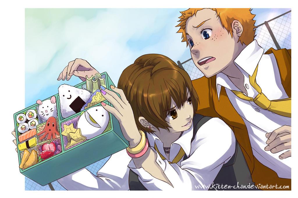 Clock Work: Treat-thief by kitten-chan