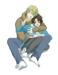 YA: Not Even Air Between Us by kitten-chan