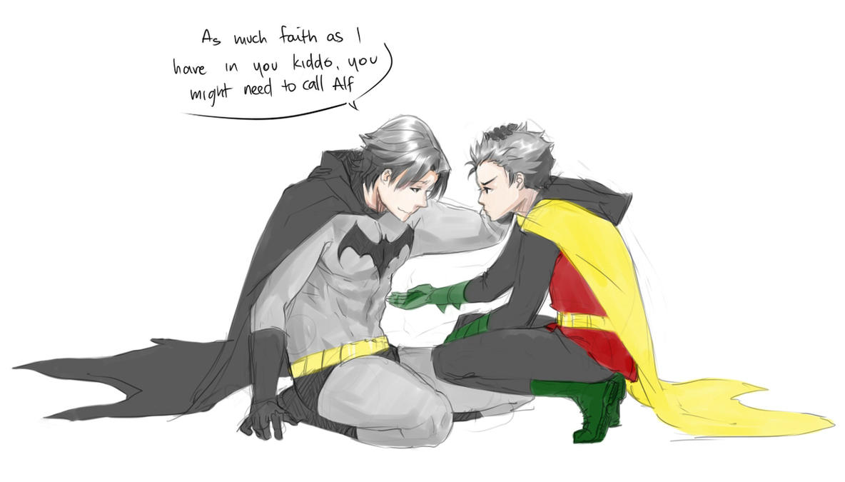 DC: Your Robin by kitten-chan
