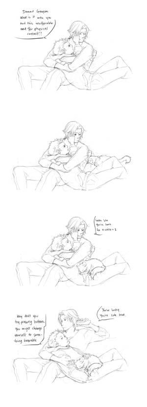 DC: Compulsory Cuddles