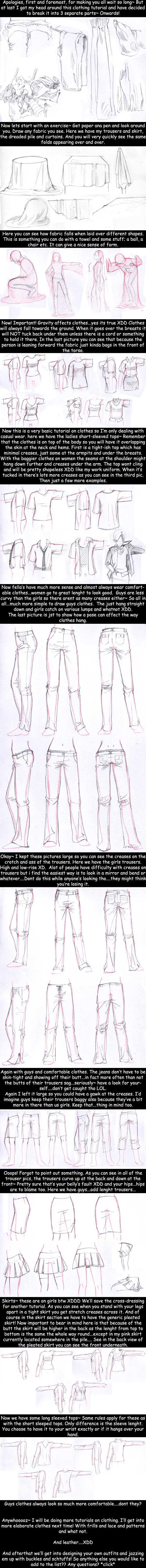 Tutorial: Clothes and Folds