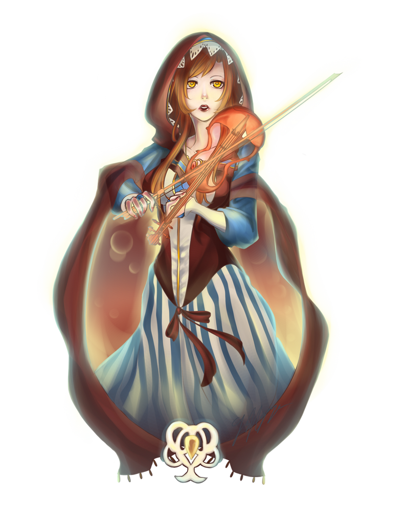 SS - The Violinist Aelia by DragonfaeryYume