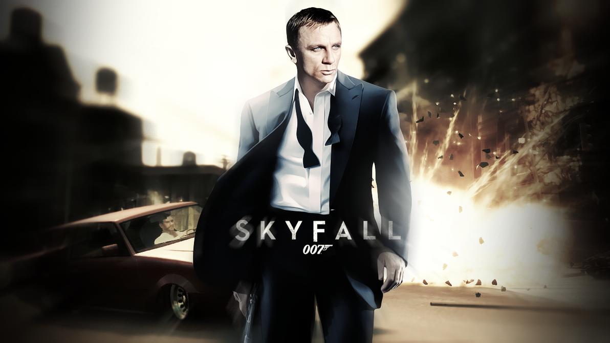 James bond skyfall wallpaper by sparco2 on deviantart - Daniel craig bond wallpaper ...