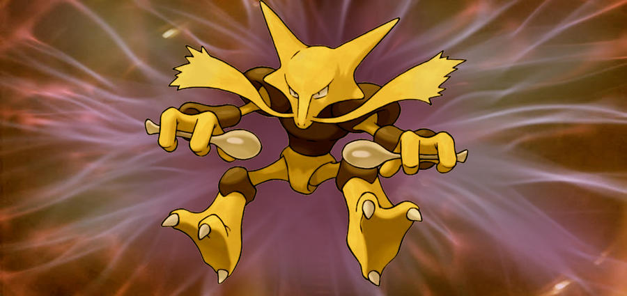 how to get alakazam in pokemon fire red without trade