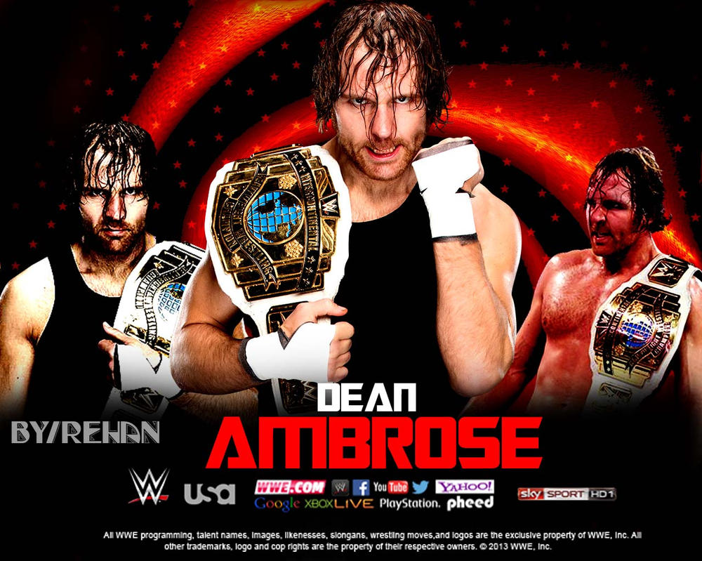 Custom Dean Ambrose Wallpaper By Me RehanRKO