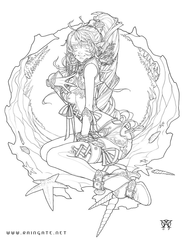 free anime porn coloring pages - photo#14