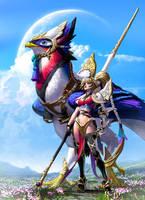 Bird Rider by MichelleHoefener