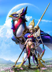 Bird Rider by MichelleHoefener