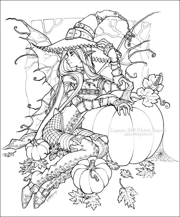 ivys halloween coloring pages - photo#10