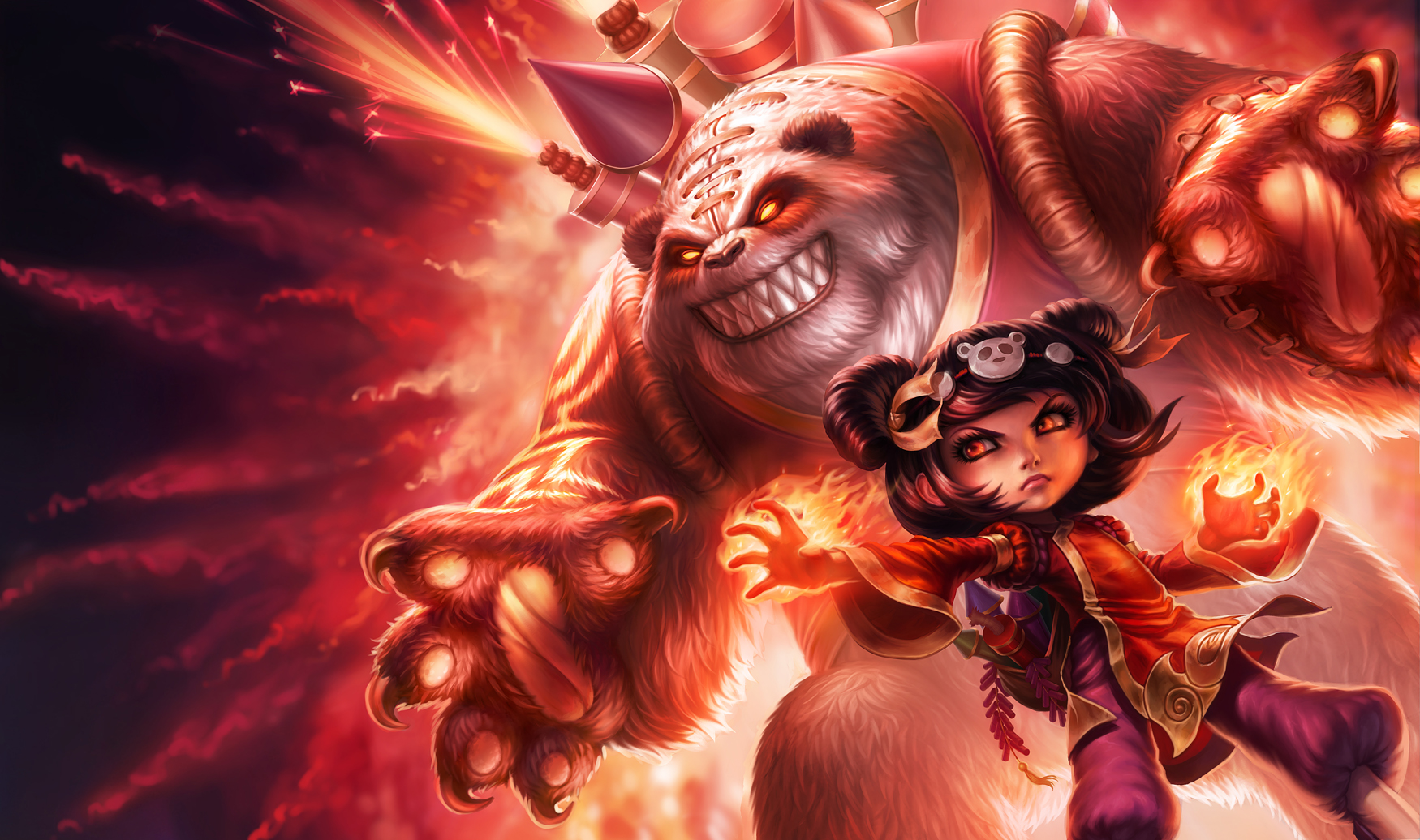 Panda Annie - League of Legends by MichelleHoefener