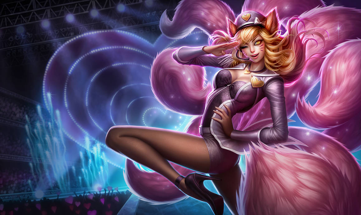 Pop Star Ahri - League of Legends by MichelleHoefener