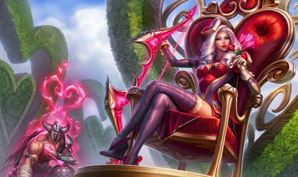 Heartseeker Ashe - League of Legends by MichelleHoefener