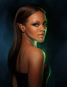Rihanna Portrait