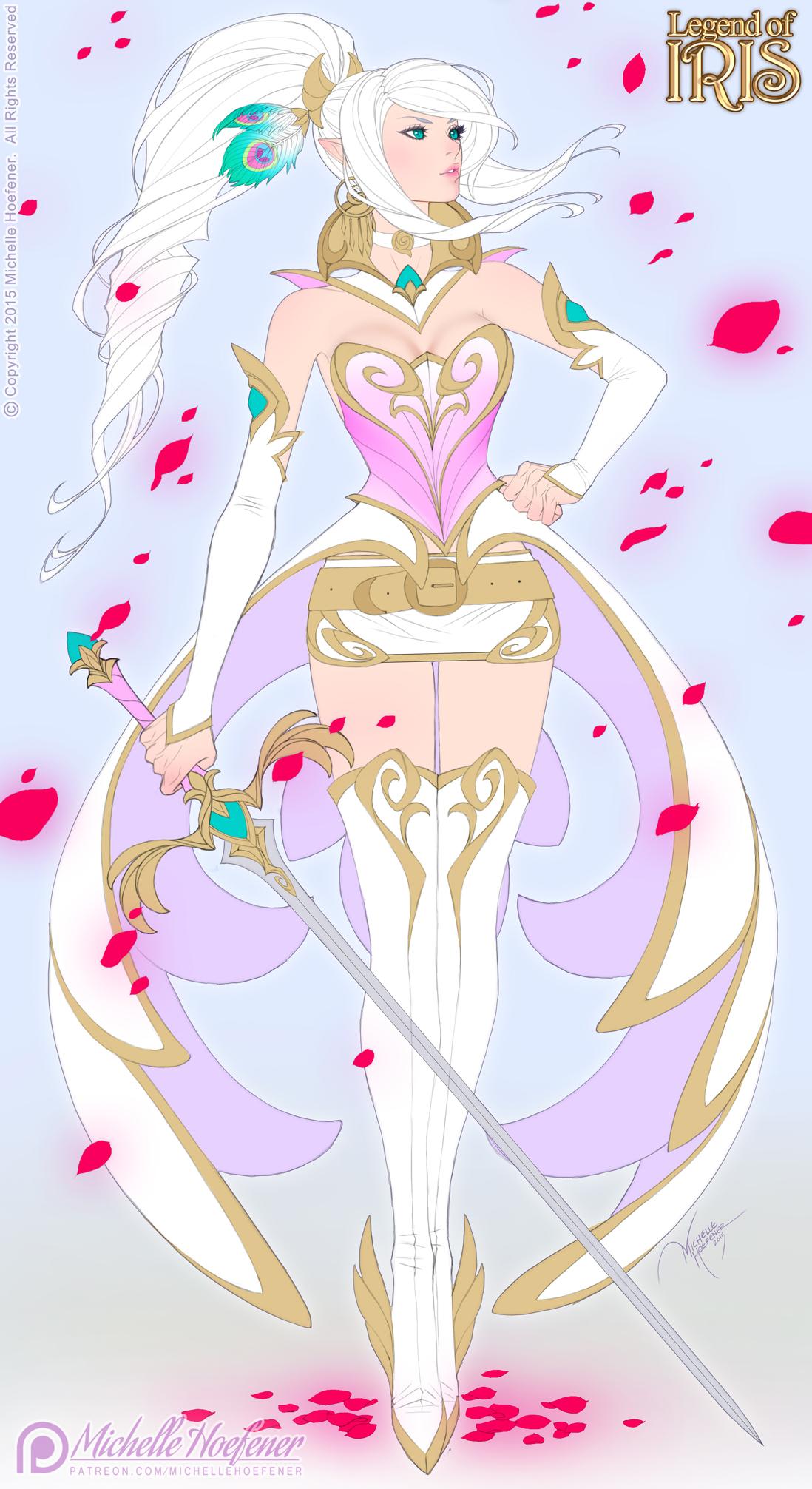 IRIS - Alternate Princess Dress - FLATS by MichelleHoefener