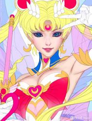 Super Sailor Moon - Line Art